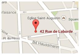 51 rue de Laborde, 75008 Paris - Tél. : +33. (0)1 53 42 31 20